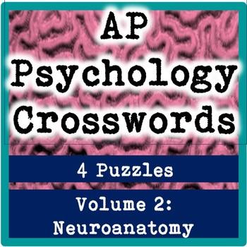 AP / General Psychology Crosswords Volume 2: Neuroanatomy & Genetics