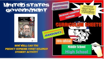 AP Gov / American Government: The Supreme Court and Policy Making