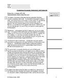 """AP Gov - """"Federalists & Antifederalists"""" Guided Annotation and Questions Bundle"""