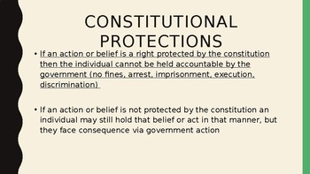 AP Government 1st Amendment 26 slides  Power Point