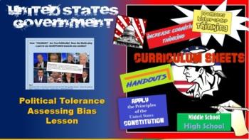 AP Government/American Government Political Tolerance Lesson