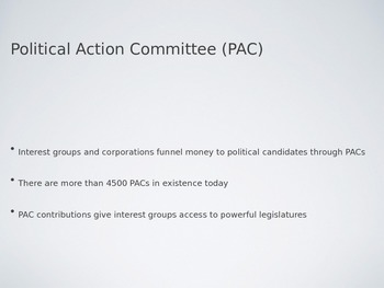 AP Government Campaigns, Elections & The Media PowerPoint
