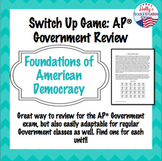 Constitutional Underpinnings Switch-Up Review Game: AP® Government