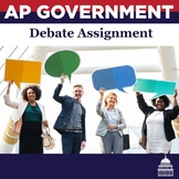 AP Government Debate Assignment