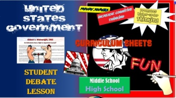 AP Government Debates (Landmark Supreme Court Decisions PART II) updated