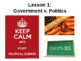 AP Government PowerPoint - Exam Intro and Chapter 1