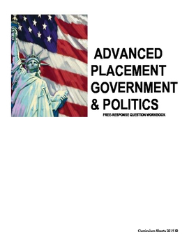 AP Government FRQ Example Project Book