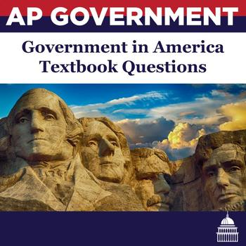 AP Government - Government in America Textbook Questions & Vocabulary