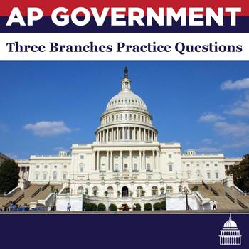 AP Government Institutions of Government Practice Questions