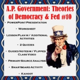 AP Government Part I: Theories of Democracy & Federalist #10
