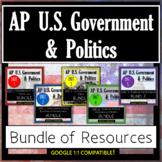 AP Government & Politics: Curriculum Resources BUNDLE! (Ed