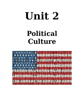 AP Government & Politics Unit 2 Political Culture