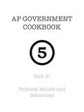 AP Government & Politics - Unit II Study Guide