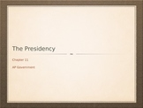 AP Government Presidency Unit PowerPoint
