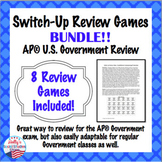 AP® Government Review Bundle: Switch-Up Games