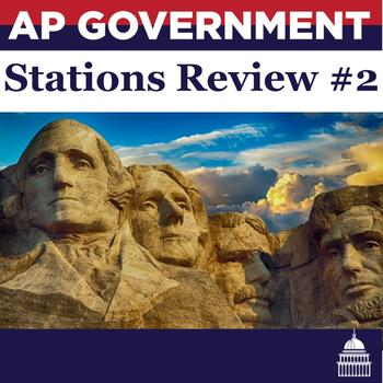 AP U.S. Government and Politics Stations Review Lesson # 2
