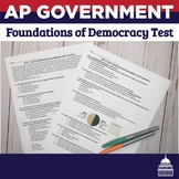 AP Government- Constitutional Underpinnings Test