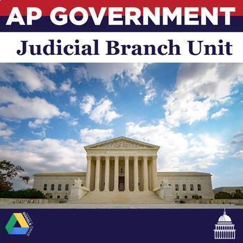 AP Government and Politics Judicial Branch Unit