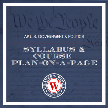 AP Gov Syllabus and Course Plan