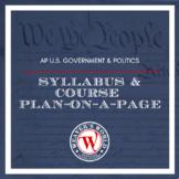 AP Government & Politics Student Syllabus, Course Plan & R
