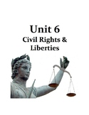AP Government and Politics - UNIT 6 - Civil Liberties