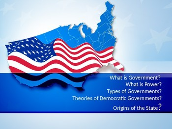 AP-Government and Politics Unit One Constitutional Underpinnings Powerpoint