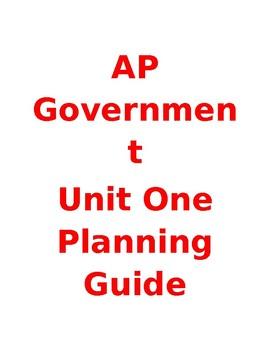 AP Govt Unit One Teacher's Guide