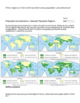 AP HUMAN GEOGRAPHY Handouts on Population! 20 worksheets!