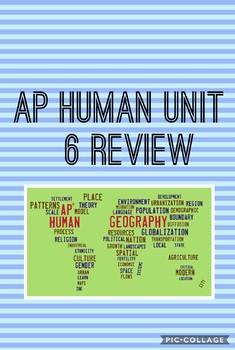 AP HUMAN Unit 6 HW Review Sheet