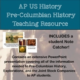 AP History Pre-Columbian America and Exploration Teaching