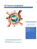 AP Human Geography - Basics of Geography Supplemental Activities