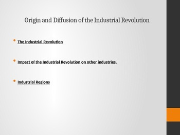 AP Human Geography- Industry PPT.