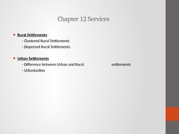 AP Human Geography - Services PPT