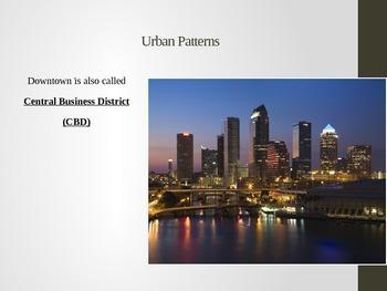 AP Human Geography- Urban Patterns PPT.