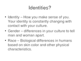AP Human Geography Chapter 5 Race and Ethnicity Power Point De Blij