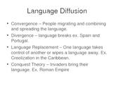 AP Human Geography Chapter 6 Language Power Point De Blij