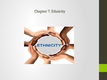AP Human Geography- Ethnicity PPT.