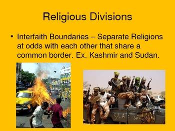AP Human Geography Chapter 7 Religion Power Point De Blij