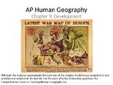 AP Human Geography  Chapter 9: Development Powerpoint