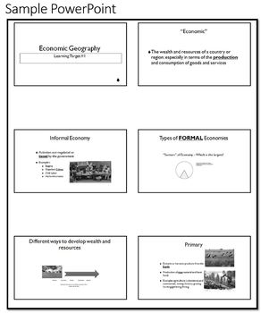 AP Human Geography - Economic Geography Unit
