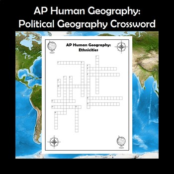 Ap Human Geography Ethnicity Worksheets Teaching Resources