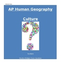 AP Human Geography: Folk and Popular Culture Multiple Choi