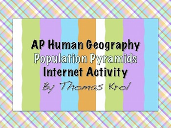 AP Human Geography Internet Activity Population Pyramid