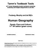 AP Human Geography: People, Place and Culture 11th editon Packet