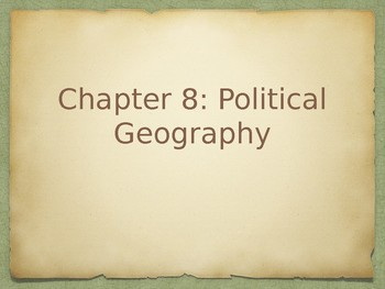 AP Human Geography Political Geography