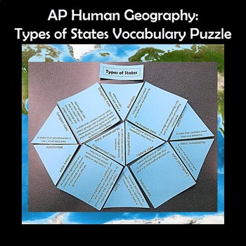 AP Human Geography Political Geography Bundle