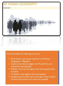 AP Human Geography - Migration