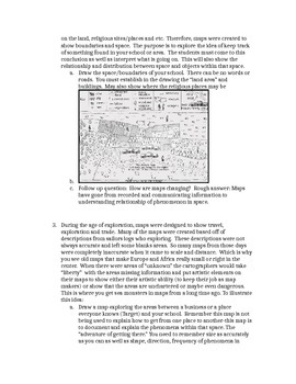 AP Human Geography Unit 1 Map Use Activity