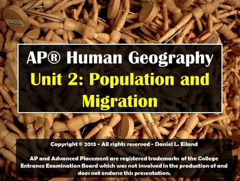 AP Human Geography Unit 2: Population and Migration Powerpoint