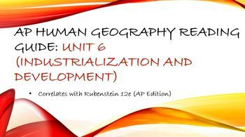 Ap Human Geography Unit 1 Worksheets & Teaching Resources | TpT